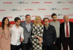Douglas Booth e Damian Lewis a Roma col Romeo and Juliet di Carlei