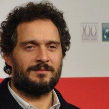 Il venditore di medicine: Claudio Santamaria posa a Roma 2013