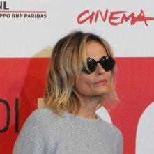Il venditore di medicine: Isabella Ferrari posa a Roma 2013
