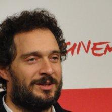 Il venditore di medicine: l'attore Claudio Santamaria posa a Roma 2013