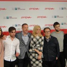 Romeo & Juliet: una foto di gruppo per il cast a Roma 2013