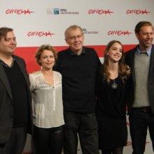 Sorrow and Joy: il cast posa a Roma 2013