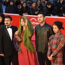 Acrid: il cast del film sul tappeto rosso a Roma 2013