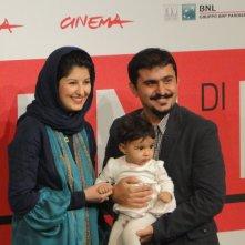 Acrid: Kiarash Asadizadeh con la moglie e la figlia a Roma 2013