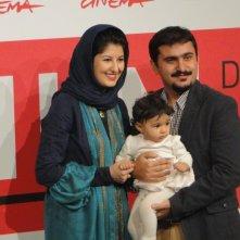 Acrid: Kiarash Asadizadeh con la moglie e la figlia al Festival di Roma 2013