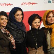 Acrid: le protagoniste femminili del film posano a Roma 2013