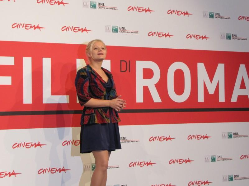 Quod Erat Demonstrandum Ofelia Popii Presenta Il Film Al Festival Di Roma 2013 291799