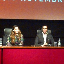 The Green Inferno: Eli Roth in conferenza stampa al Festival di Roma 2013 con Lorenza Izzo