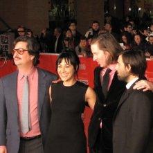 Festival di Roma 2013 - Roman Coppola con Wes Anderson, GIada Colagrande e Jason Schwartzman