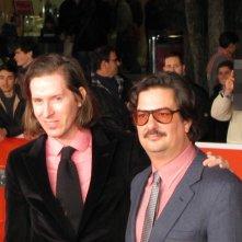 Festival di Roma 2013 - Roman Coppola con Wes Anderson sul red carpet della kermesse