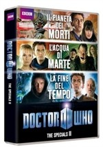 La Copertina Di Doctor Who The Specials Ii Dvd 291869