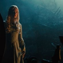 Maleficent: Elle Fanning in una scena