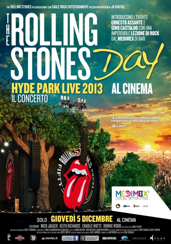 Rolling Stones Day Hyde Park Live 2013 La Locandina Del Film 291877