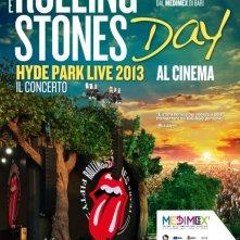 Rolling Stones Day - Hyde Park Live 2013: la locandina del film