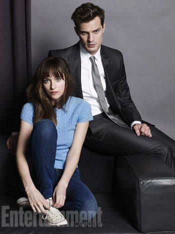 Cinquanta sfumature di grigio: Jamie Dornan e Dakota Johnson insieme