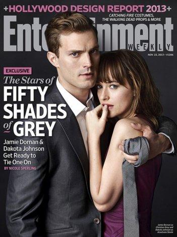 Cinquanta sfumature di grigio: Jamie Dornan e Dakota Johnson sulla copertina di Enterteinment Weekly