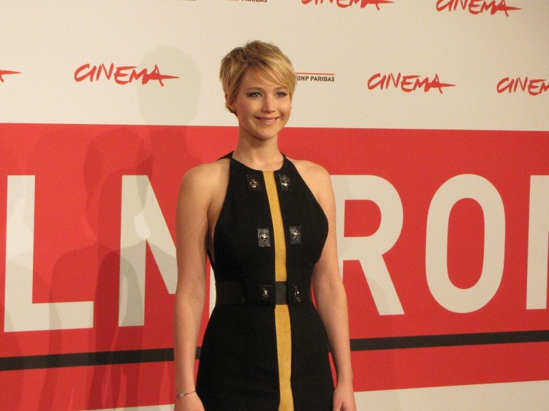 Hunger Games La Ragazza Di Fuoco Jennifer Lawrence A Roma 2013 292093