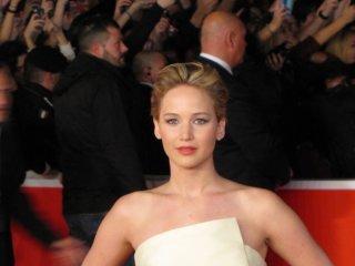 Hunger Games: la ragazza di fuoco - Jennifer Lawrence a Roma 2013, sul red carpet