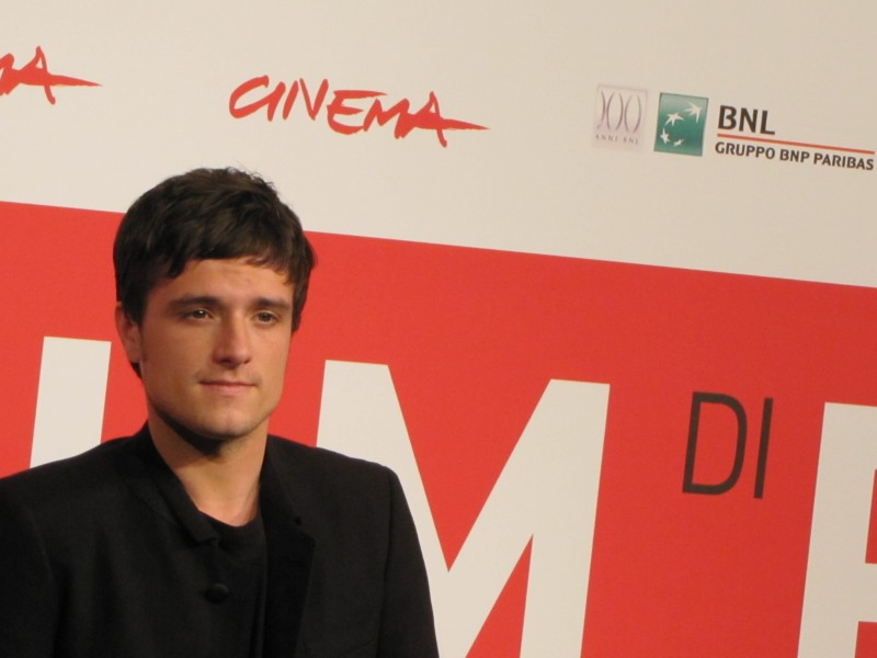 Hunger Games La Ragazza Di Fuoco Josh Hutcherson Al Festival Di Roma 2013 292098