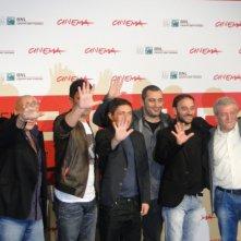 Take Five: Guido Lombardi col cast del film al Festival di Roma 2013