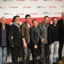 Take Five: il regista Guido Lombardi col cast ed i produttori del film al Festival di Roma 2013