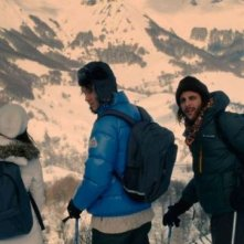 2 automnes 3 hivers: Vincent Macaigne in una scena insieme a Bastien Bouillon e Audrey Bastien