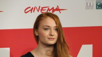 Another Me: Sophie Turner posa al festival di Roma 2013