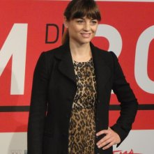 Another Me: una sorridente Leonor Watling al photocall del festival di Roma 2013