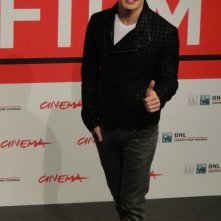 Another Me: uno scatto di Gregg Sulkin al photocall del festival di Roma 2013