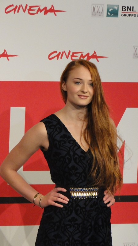 Another Me: Uno scatto di Sophie Turner al festival di Roma 2013