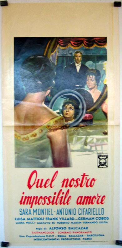 Quel Nostro Impossibile Amore La Locandina Del Film 292253