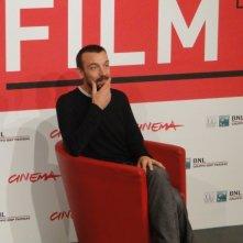 Roma 2013: il regista Alberto Fasulo posa al photocall del film Tir