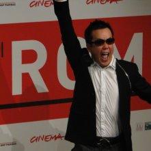 The Mole Song - Undercover Agent Reiji: Il fumettista Noboru Takahashi scherza al photocall al Festival di Roma 2013