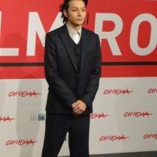 The Mole Song - Undercover Agent Reiji: l'attore Toma Ikuta posa al Festival di Roma 2013