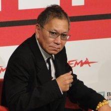 The Mole Song - Undercover Agent Reiji: Takashi Miike al photocall del Festival di Roma 2013