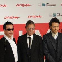 The Mole Song - Undercover Agent Reiji: Takashi Miike con Toma Ikuta ed il fumettista Noboru Takahashi al Festival di Roma 2013