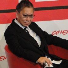 The Mole Song - Undercover Agent Reiji: Takashi Miike posa al photocall di Roma 2013