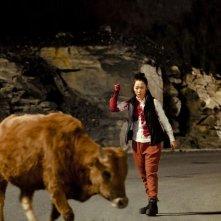 A Touch of Sin: la protagonista Zhao Tao in una scena