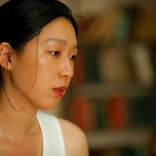 A Woman and War: Noriko Eguchi in una scena