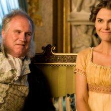 Austenland: Keri Russell con Rupert Vansittart in una scena del film