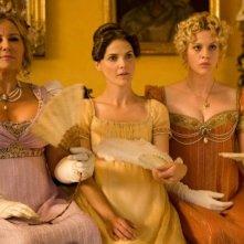 Austenland: Keri Russell insieme a Georgia King e Jennifer Coolidge in una scena