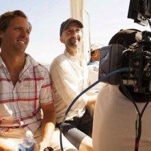 C'era una volta un'estate: i due registi Nat Faxon e Jim Rash sul set