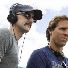 C'era una volta un'estate: i due registi Nat Faxon e Jim Rash sul set del film