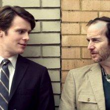 C.O.G.: Jonathan Groff con Denis O'Hare in una scena