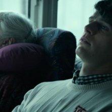 C.O.G.: Jonathan Groff nei panni di David in una scena del film con Marvella McPartland