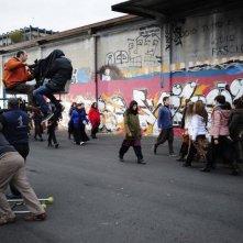 Italy Amore Mio: una foto di gruppo dal set