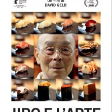 Jiro e l'arte del sushi: la locandina italiana del film