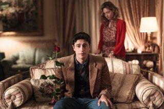 La mafia uccide solo d'estate: Pif insieme a Cristiana Capotondi in una scena