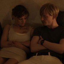 La moglie del poliziotto: Alexandra Finder in una scena del film con David Zimmerschied