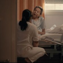 La plaga: Maria Ros in una scena litiga con Rosemarie Abella